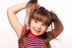 Седой волос у ребенка 4 года