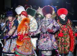 шубы из павлопосадских платков