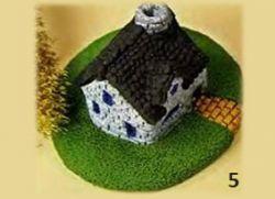 сказочный домик из пластилина 6