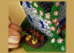 сказочный домик из пластилина 7