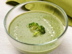Сливочный суп из бокколи