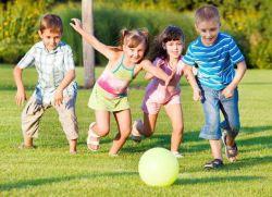Спортивные игры в детском саду