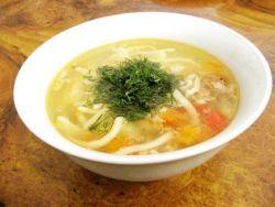 суп лапша из дикой утки