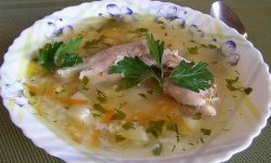 суп из кролика с картошкой