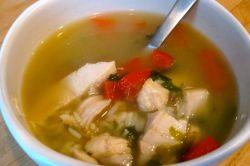 суп из куриной грудки рецепт