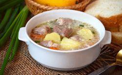 суп из куриных сердечек 5