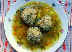 суп с тефтелями рецепт