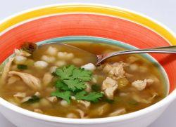 Супы на мясном бульоне