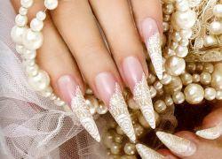 свадебные ногти 2015
