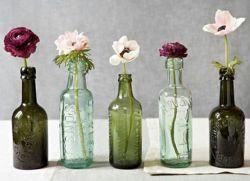 Как украсить бутылку своими руками краской фото 493