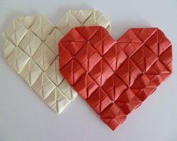 как сделать сердце из модулей