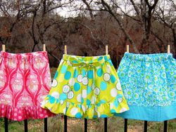 Как сшить юбку для девочки своими руками