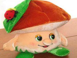 Костюм гриба своими руками
