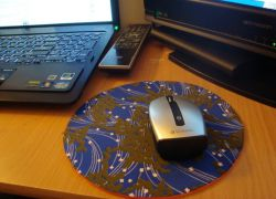 коврик для мыши своими руками