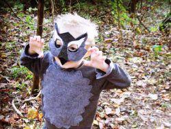 маска волка своими руками