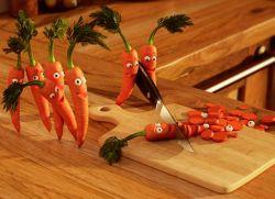 Поделки из моркови