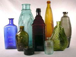 Поделки из стеклянных бутылок новые фото