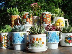 Вазоны для сада своими руками