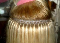Фото наращивания волос до и после