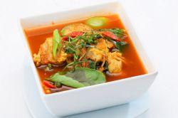 томатный рыбный суп