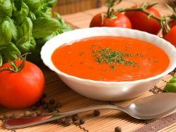 томатный суп с базиликом рецепт