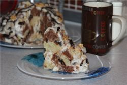 лохмато сметанный торт рецепт