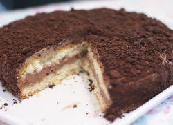 Трюельный торт