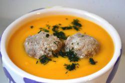 тыквенный суп с фаршем
