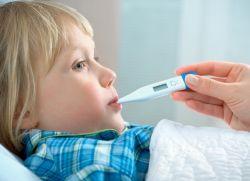 Когда у ребенка держится температура 37