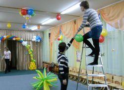 Украшение зала на выпускной в детском саду