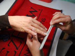 Укрепление ногтей био гелем