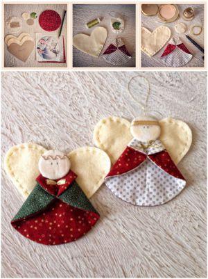 поделки на рождество для детей 10