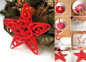 10 поделки рождественская звезда