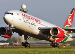 Самолет Kenya Airways