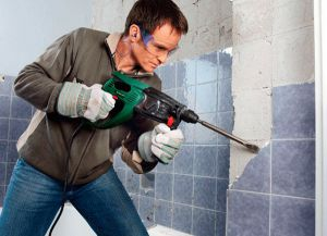 Этапы укладки плитки в ванной