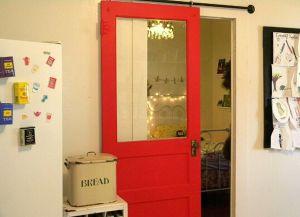 Дверь раздвижная на роликах
