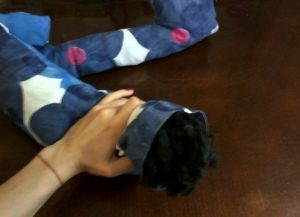Лежак для кошки своими руками3