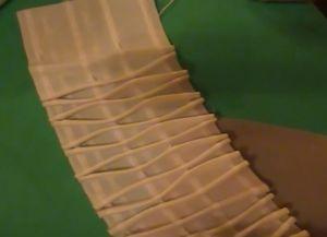 Как пришить к шторам ленту для крючков