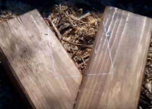 Деревянные качели своими руками