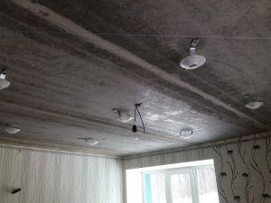3. Установка и монтаж светильников в натяжной потолок