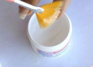 укрепление ногтей базой и акриловой пудрой 2