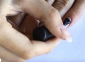 укрепление ногтей базой и акриловой пудрой 5