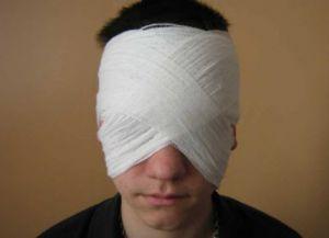 повязка на оба глаза 4