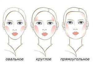 Как правильно наносить румяна на круглое лицо