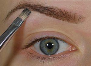 Как сделать тонкие брови