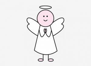 как нарисовать ангела 5