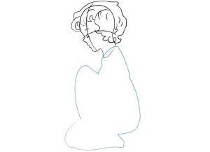 как нарисовать ангела 16