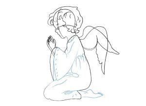 как нарисовать ангела 18