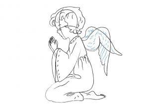 как нарисовать ангела 19