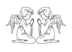 как нарисовать ангела 21